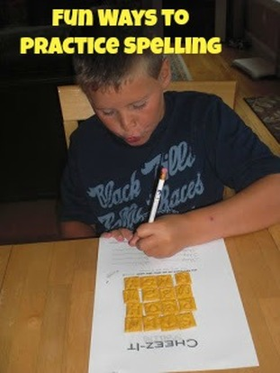 50 FUN Ways to Practice Spelling Words