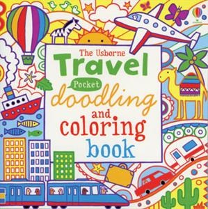 Warning! You will be hooked on our pocket-sized doodling and coloring travel book.