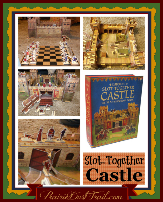 For having a great party, I received a 50% off hostess special. I picked out this Slot-Together Castle. The children are thrilled with it!