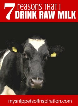 7 Reasons I Drink Raw Milk