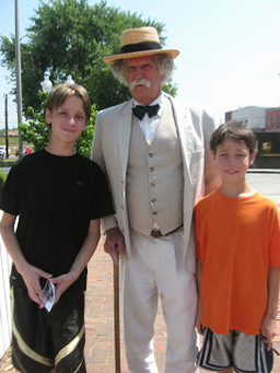 Campfires & Cleat's Trip to Hannibal, Missouri: A Mark Twain Study