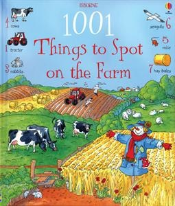 This charming picture book shows scenes from farms around the world, and on every page, there are dozens of things to spot. The detailed pictures provide hours of looking and talking, and dedicated spotters will be unable to put the book down until they have found all the water buffaloes in the rice fields, the cocoa pods on the tropical farm, or eight lambs on the sheep farm. Counting sheep has never been so much fun!