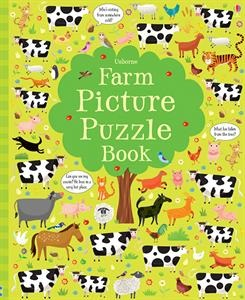 This irresistible book contains vibrantly illustrated farm puzzles. Each page is full of things to find, similarities to spot, differences to detect, and hundreds of other delightful details to talk about. Young children can search through the arrays of animals while developing their powers of observation, and their number and language skills.