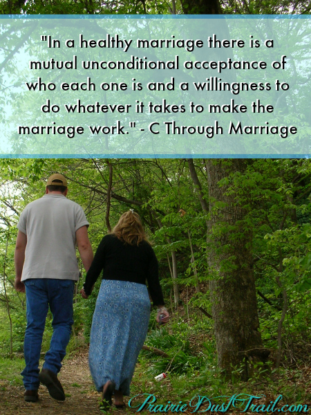 Acceptance in Marriage -