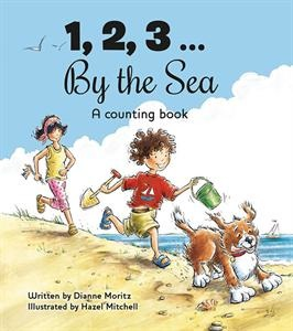 Will a day at the sea be filled with numerous things to eat, play, watch and do? Will there by rhymes and wordplay and lots of fun things to say aloud? Will there be delicate, detailed, light filled illustrations? You can count on it! Sunny illustrations and a lilting, rhyming text invite the youngest beach lovers to count their way through a delightful day of seaside adventures.