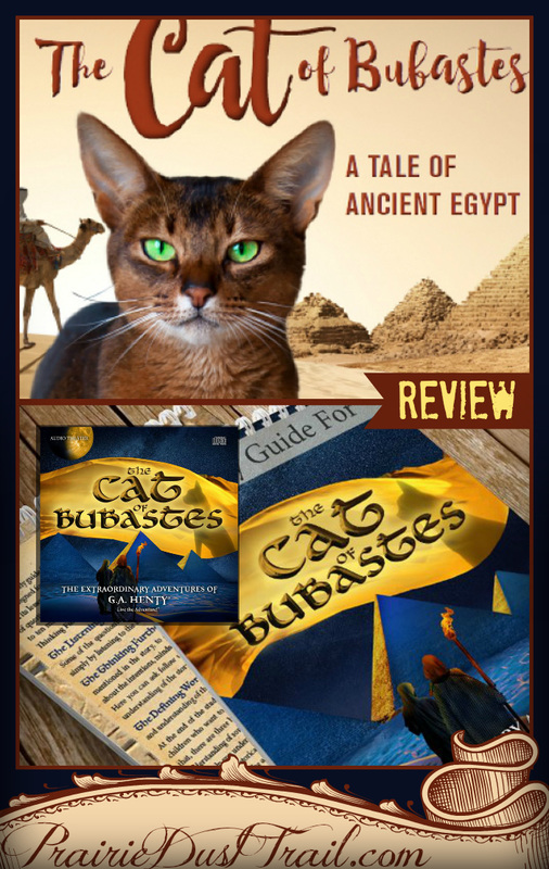 The dramatic audio presentation brings it to life in a way that makes you feel like you are running through the sands of Egypt yourself.