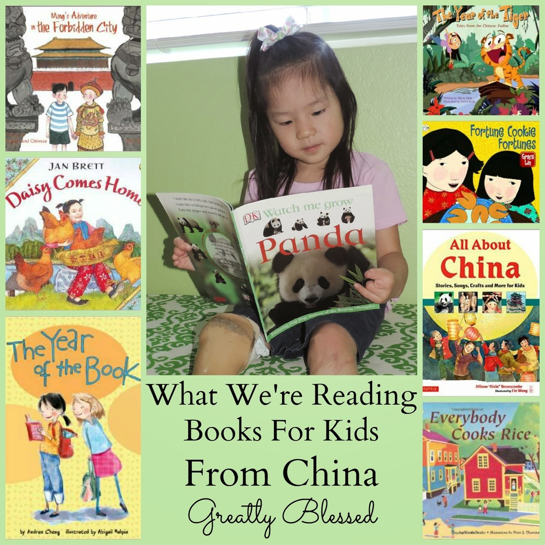 Greatly Blessed - What We're Reading - Books For Kids From China