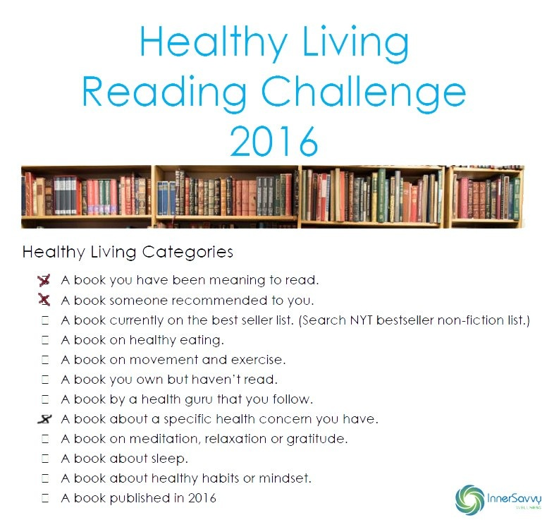 Healthy Reading Challenge – March 2016