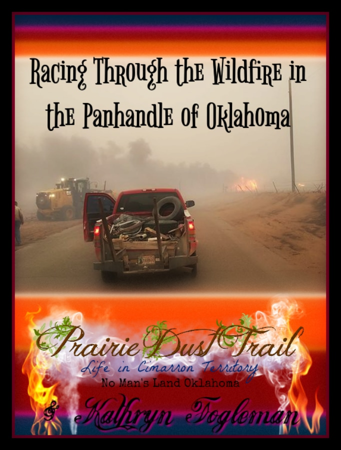 Racing Through the Wildfire in the Panhandle of Oklahoma