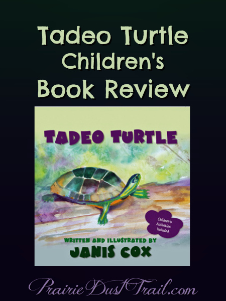 Tadeo Turtle by Janis Cox is a sweet little picture story book for young children.