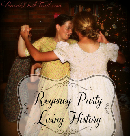 There's no better way to reinforce history than with a party in period clothes. We have really enjoyed Jane Austen's books and while you should be careful which movie renditions you get, they are a great visual example of life in England in the late 1700′s and early 1800′s.
