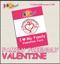 Family Friendly Valentine Celebration and Free Printable