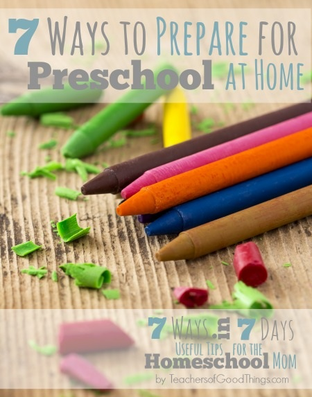 7 Ways to Prepare for Preschool at Home -Dollie Freeman