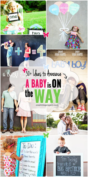 30+ Fun Photo Ideas to Announce a Pregnancy