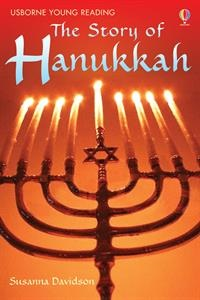 The Story of Hanukkah for children who have just started reading alone, this book uses everyday vocabulary and has lots of colorful artwork to maintain interest.
