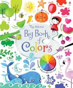 A large, sturdy board book introducing all the colors of the rainbow and their many variations, with lots of color vocabulary such as turquoise, magenta and vermilion, and color descriptions such as navy, lime and rose. The acetate page shows how colors mix and change when combined with others.