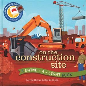 "Young builders will delight in exploring all the hidden secrets of a construction site. They simply hold the book's pages to the light to ""see-through"" everything that's being built – inside and out. ages 4-8"