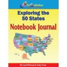 Exploring the 50 States Notebook Journal (Curriculum Review)
