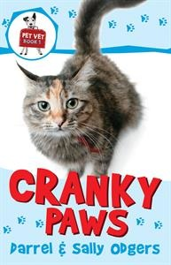 """Take Cranky Paws the cat, for example... Her name wasn't really Cranky Paws, but that's what Dr. Jeanie and I called her. I'd never met a cat who was so determined to hate everyone!"""