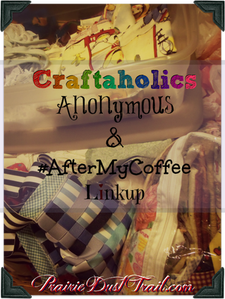 I need a Craftaholics Anonymous Association. I really do. I have WAY too many crafty things I enjoy. I have UFOs bursting the seams of our poor little 100+ year old house. UFOs in Craft World are