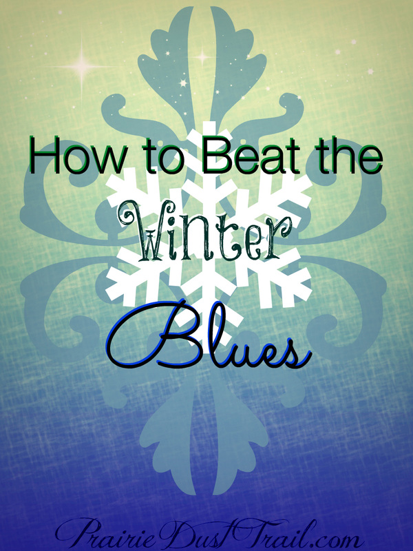 How to Beat the Winter Blues with vitamin and mineral rich foods, books & love!