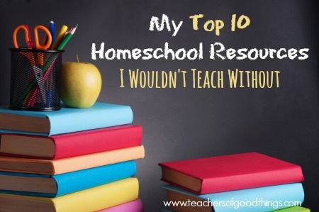 My top 10 homeschool resources I wouldn't teach without -Dollie Freeman