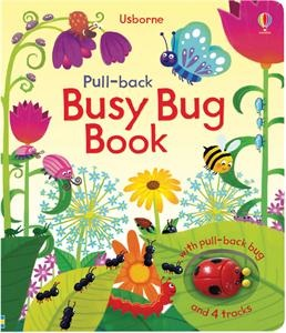 Watch as the bug whizzes around the tracks in this delightful interactive book. Wind up the bug by pulling it backward, place it on the tracks and watch it wiggle around the garden.