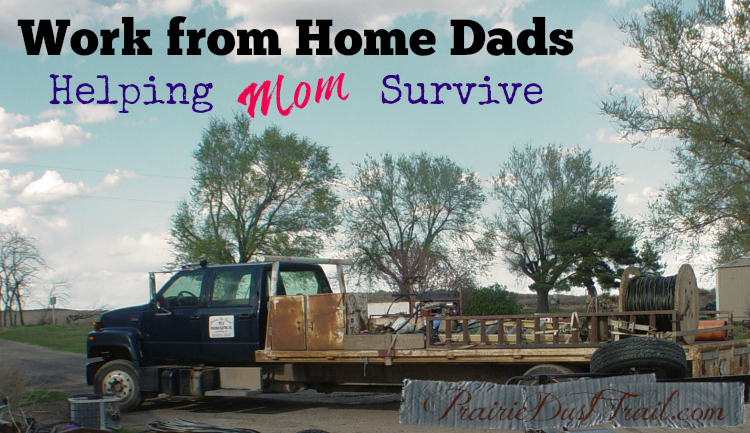 Work from Home Dads – Helping Mom Survive