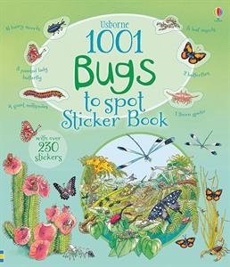Spot beetles scurrying across desert dunes, butterflies flitting through the jungle, caterpillars munching on cabbage leaves, and many, many more bugs. Little spotters can keep track of all their finds using the stickers in the middle of the book.