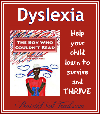 "Written specifically for children with dyslexia, ""The Boy Who Couldn't Read"" will help your child learn to survive and THRIVE with dyslexia."