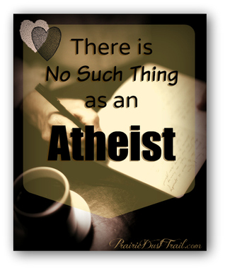 I don't believe in atheists. There's no such thing as an atheist. I'm serious. An atheist is someone who doesn't want to believe in God. There are many reasons why a person would not want to believe in God.