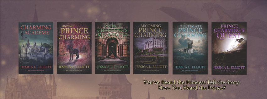 The Charming Academy series by Jessica L. Elliott