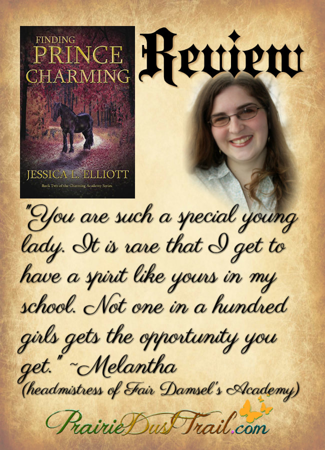 Finding Prince Charming is the second book in the Charming Academy series by Jessica L. Elliott. In this installment one of the princes gets cursed and his princess is the one who has to go on a quest.