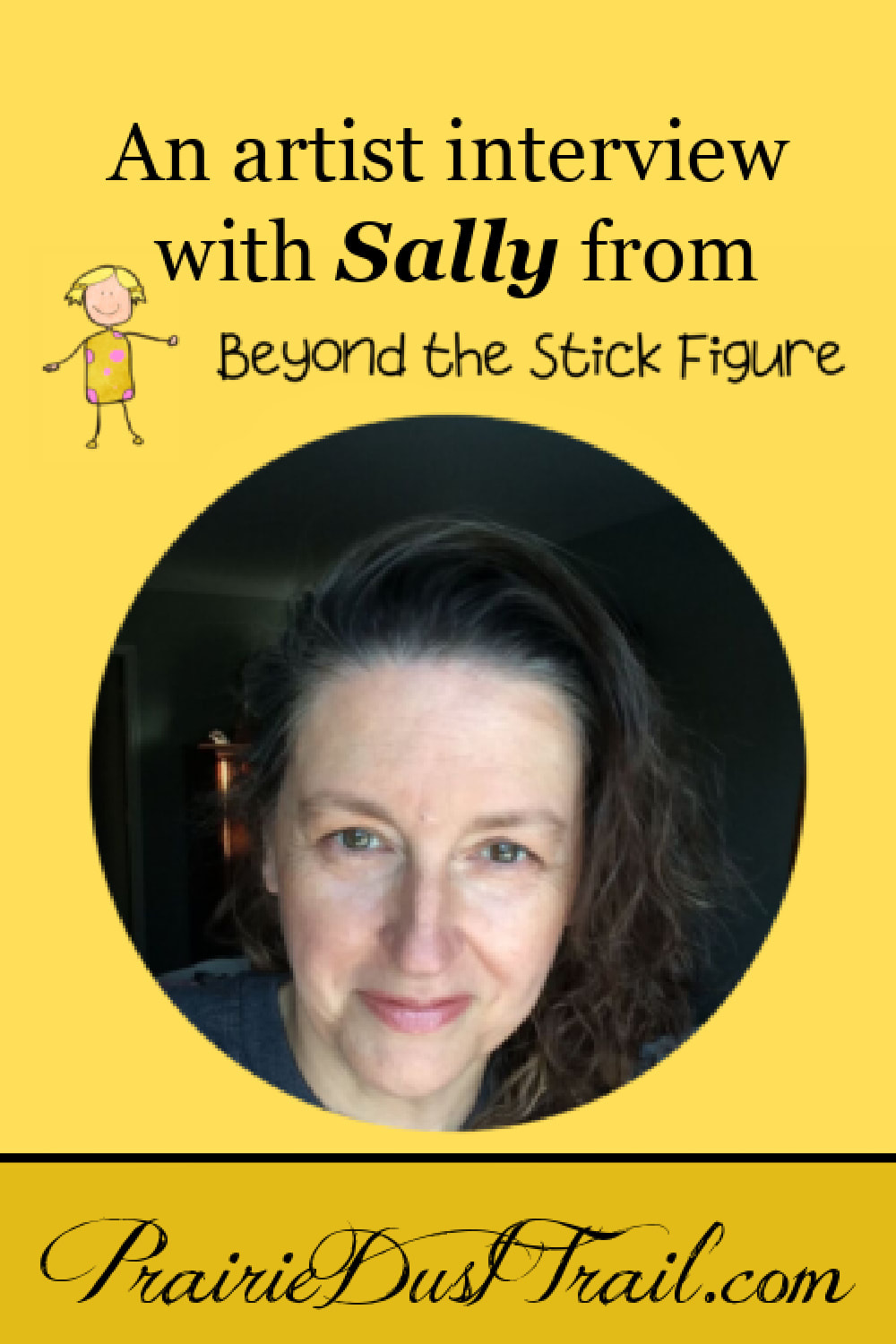 From excellent 2nd-hand finds, felt-tipped pens and black thumb gardening to our love for encouraging the creativity of children, Sally is definitely a kindred spirit. I hope you've enjoyed getting to know more about her. If art is something you'd like to learn more yourself or you need help teaching your children, I HIGHLY encourage you to join the free 14 day trial of the Beyond the Stick Figure course. This course is for ANY age. With all the stress in the world today, the timing of this course is perfect. Art is an ultimate 'self-care' stress relief.
