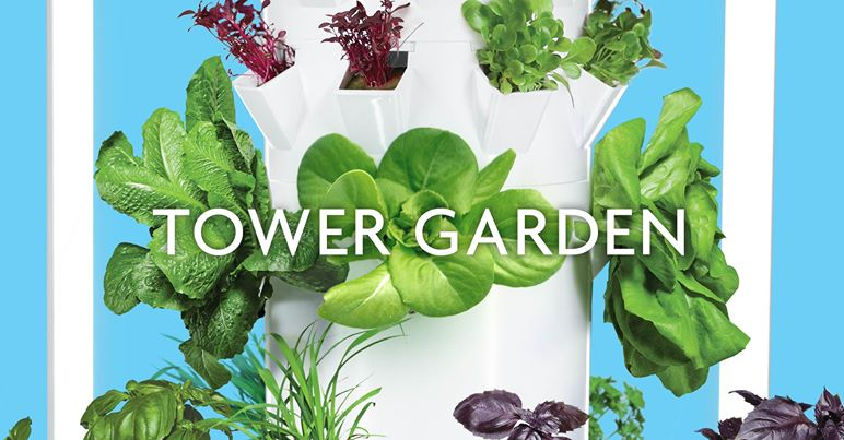 Grow Your Own Food with Tower Garden